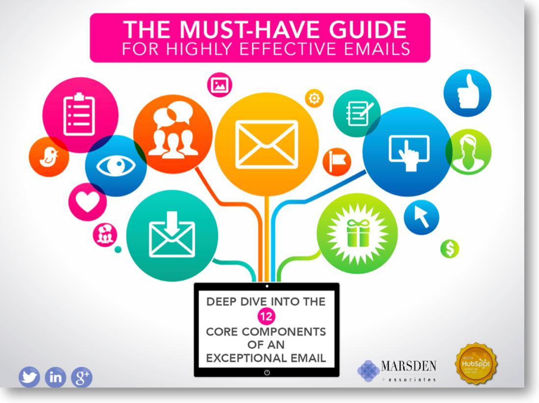 The Marsden Marketing Digital Marketing Blog - Digital marketing email templates