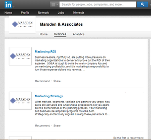 Linkedin Showcase Page