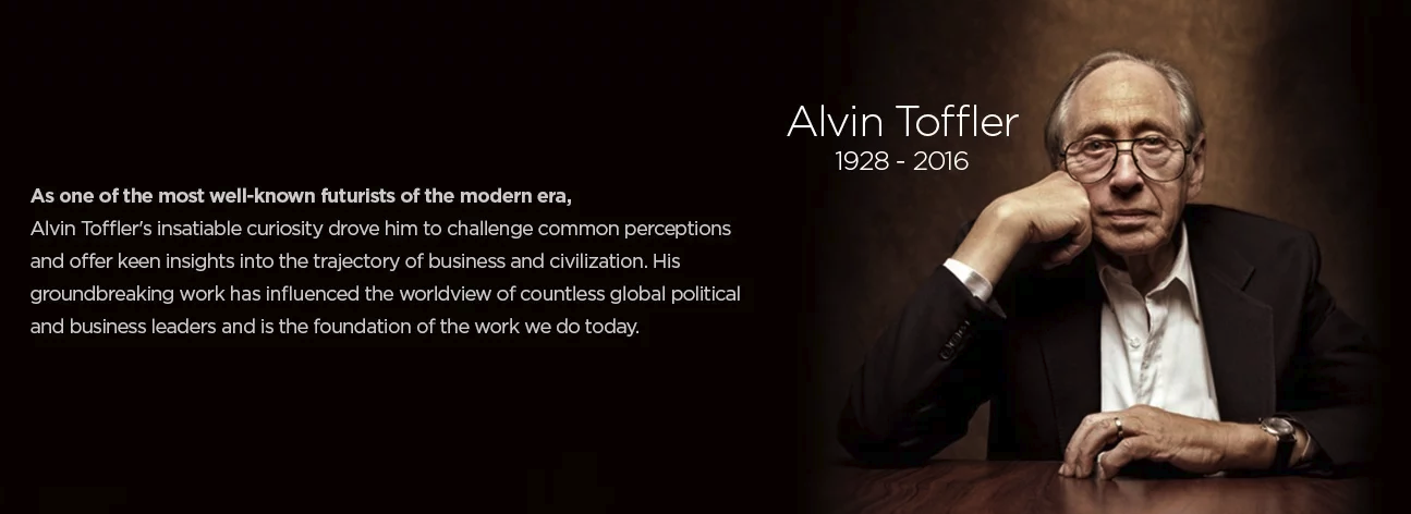 interactive content alvin toffler