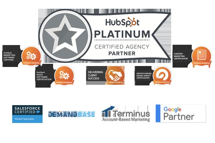 Hubspot Platinum, Salesforce, Pardot, Demandbase, Terminus, Google Analytics, Google Adwords,