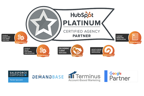 Hubspot Platinum, Salesforce, Pardot, Demandbase, Terminus, Google Analytics, Google Adwords,