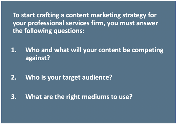 3 questions content marketing strategy