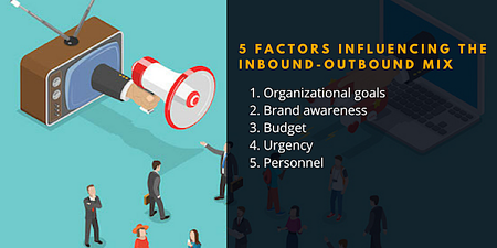 The 5 Factors Influencing The Inbound-Outbound Mix