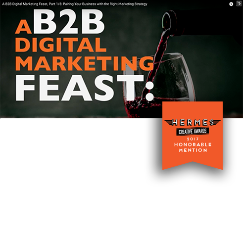 Digital Marketing Agency Marsden Marketing Wins Video Award