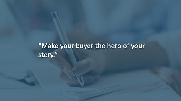 build a b2b brand story
