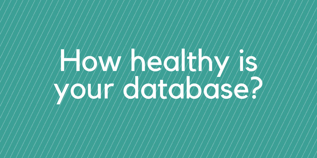 How healthy is your account and contact database?