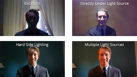 Image from Aeroflow Healthcare (Job Interview Tips and Tricks - Lighting Examples)