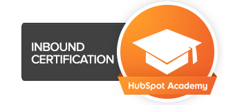 HubSpot Inbound certification for marketing agencies badge