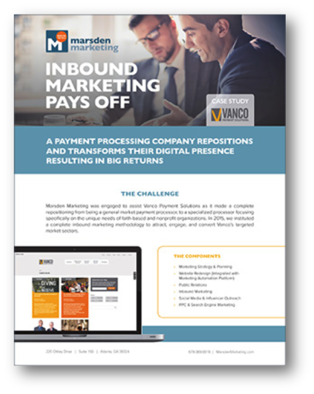 Inbound Marketing Pays Off: A B2B Marketing Case Study