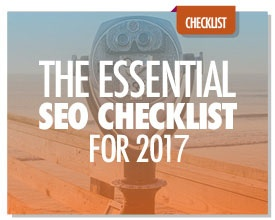 The Essential SEO Checklist for 2017