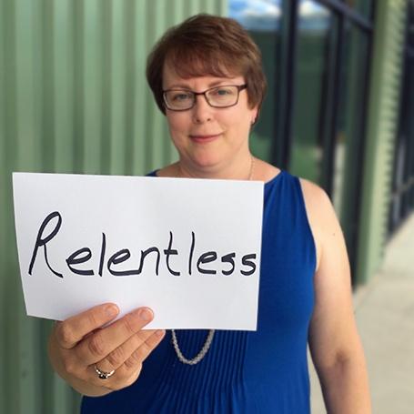 Stephanie Zercher - relentless