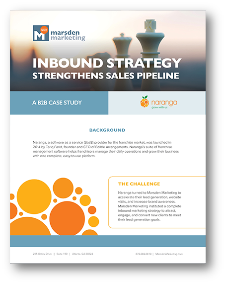 Inbound Strategy Strengthens Sales Pipeline: A B2B Case Study