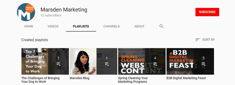 Optimized YouTube Playlists
