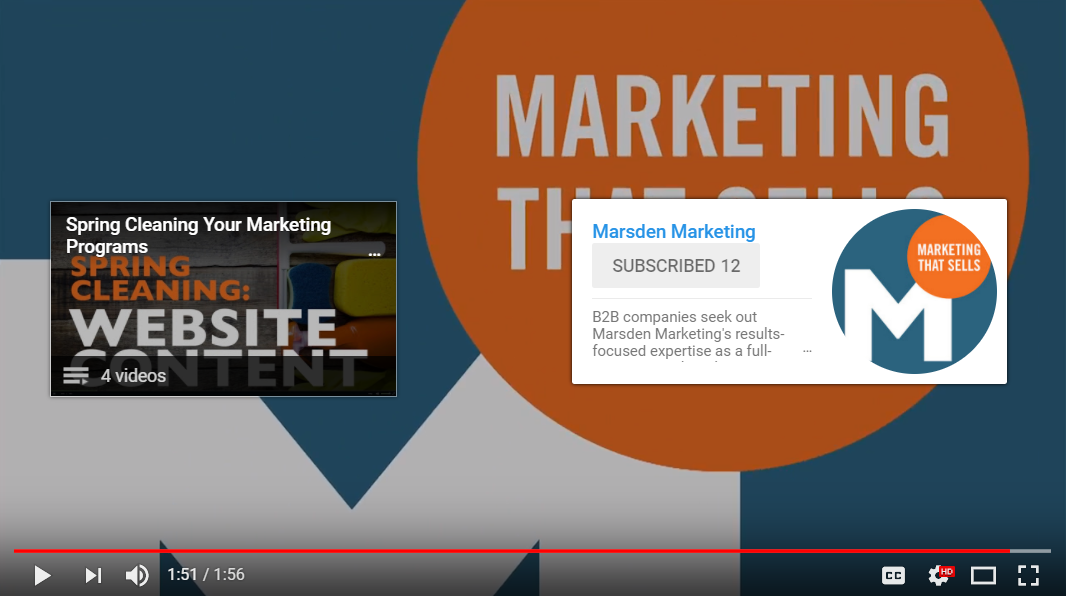 YouTube End Screens for SEO