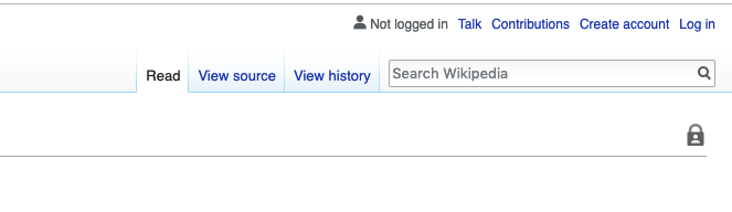 Creating an account for your B2B Wikipedia page