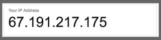 Example of IPv4