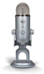 Yeti podcast microphone
