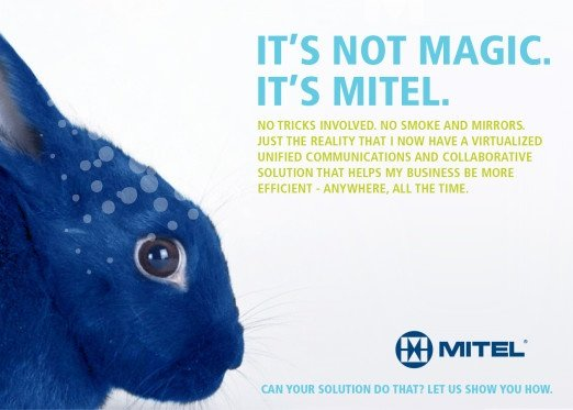 Mitel Integrated Marketing Campaign Example