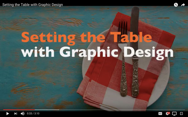A B2B Digital Marketing Feast, Part 2/5: Setting the Table with Graphic Design