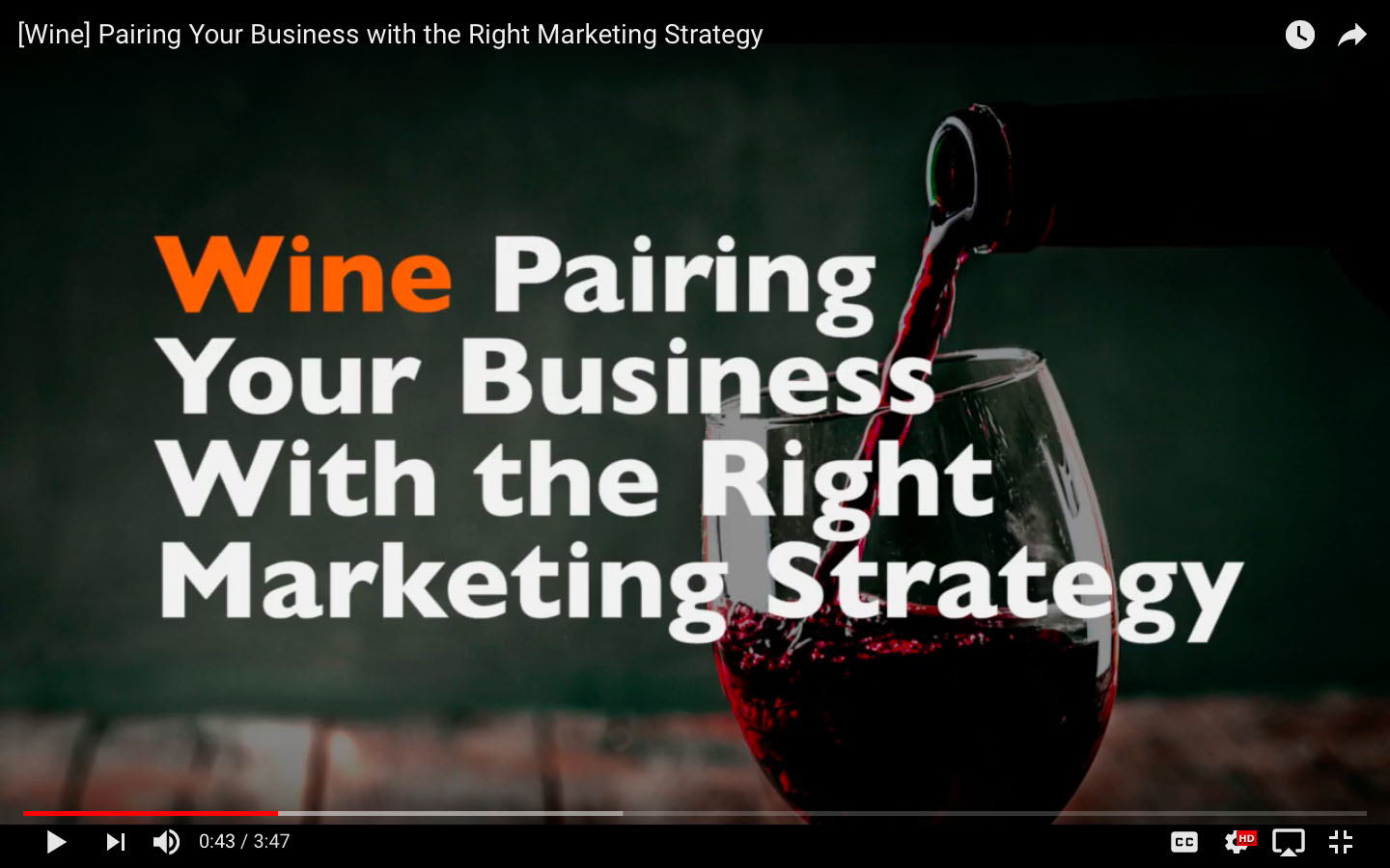A B2B Digital Marketing Feast, Part 1/5: [Wine] Pairing Your Business with the Right Marketing Strategy