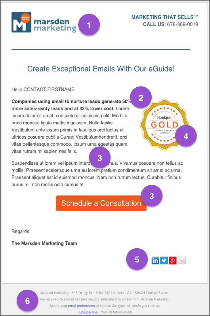 6 Key Elements to Include in Every Email Marketing Template