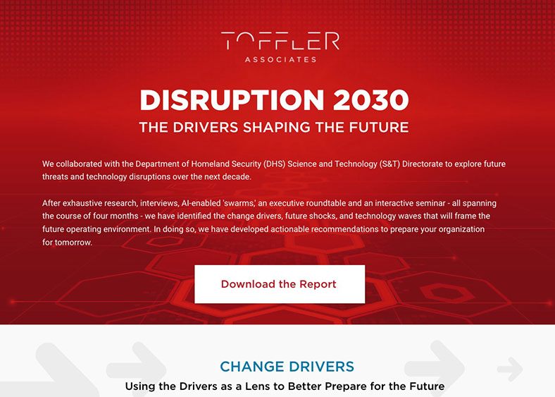 Toffler Associates - Interactive Content Turns Into Lead Gen Machine