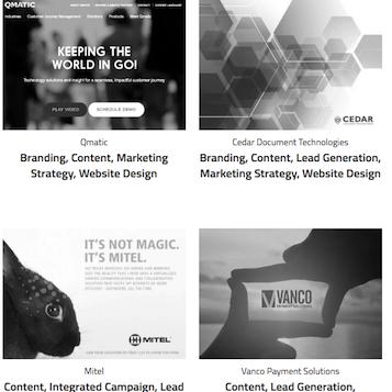 Our Work - Content Marketing<br>[Case Studies]